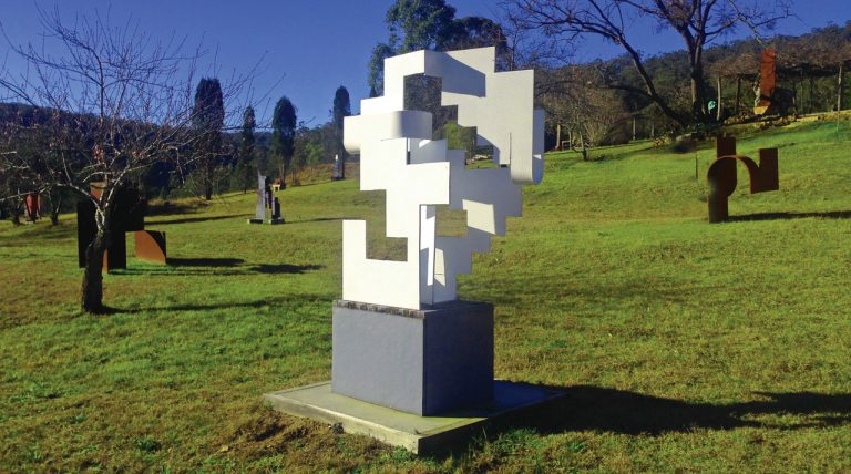 Sculpture in the Vines